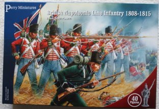 Perry Miniatures 28mm BH-1 British Infantry 1808-1815
